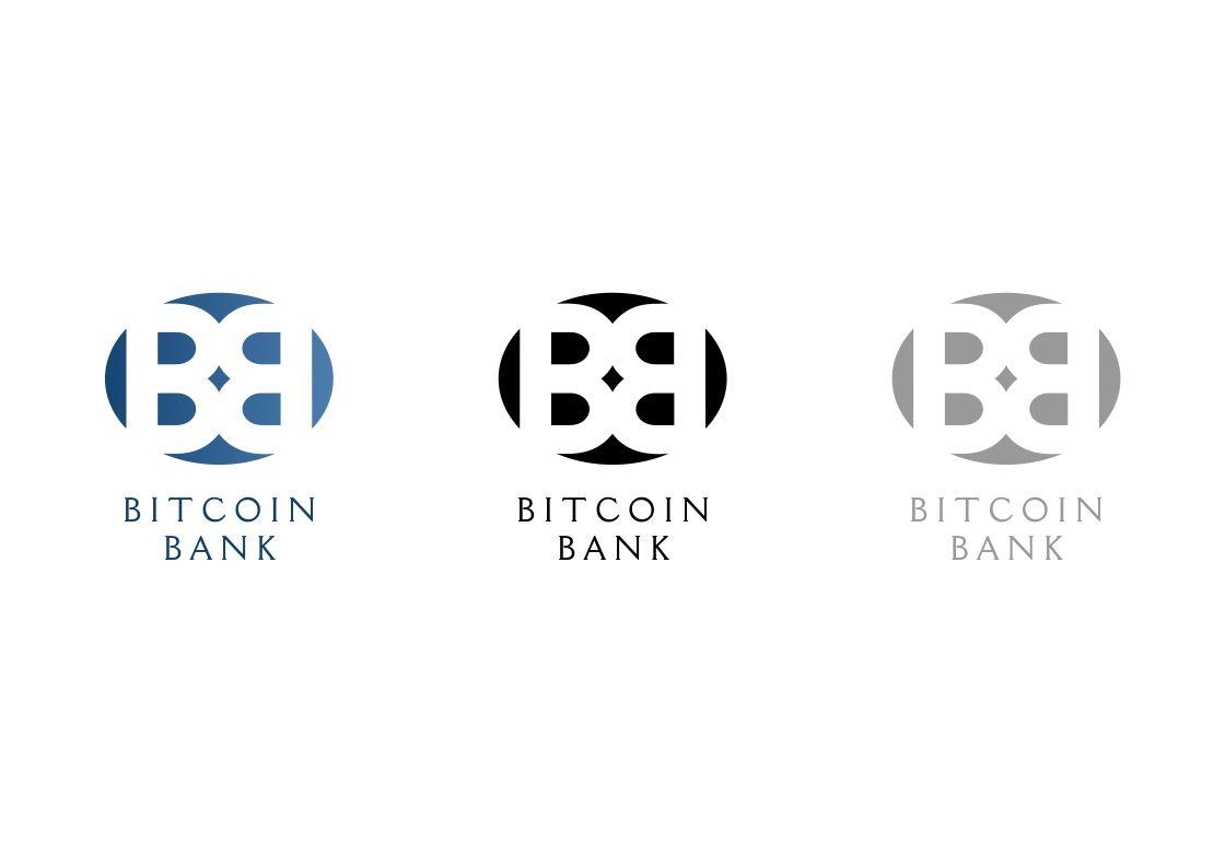 BitcoinBank - Логотип - дизайнер magicburro