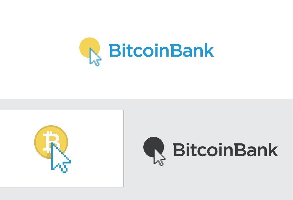 BitcoinBank - Логотип - дизайнер eduardo