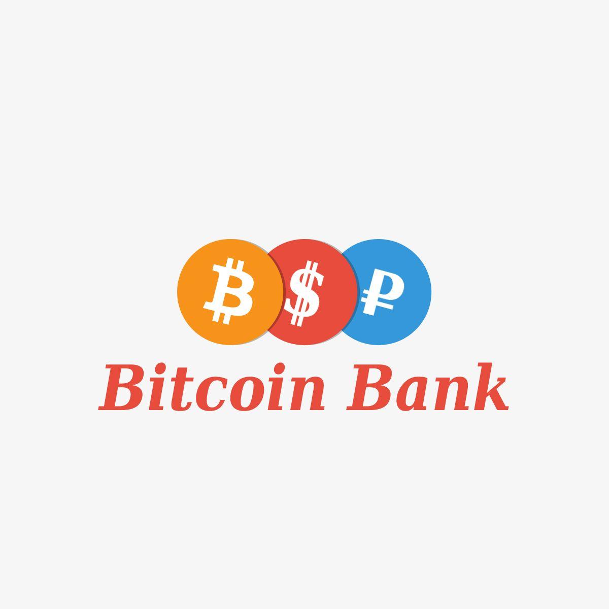BitcoinBank - Логотип - дизайнер Mio-