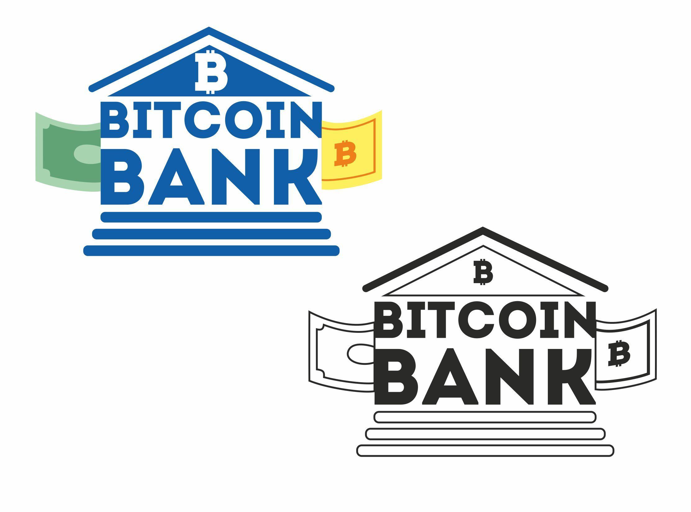 BitcoinBank - Логотип - дизайнер janezol