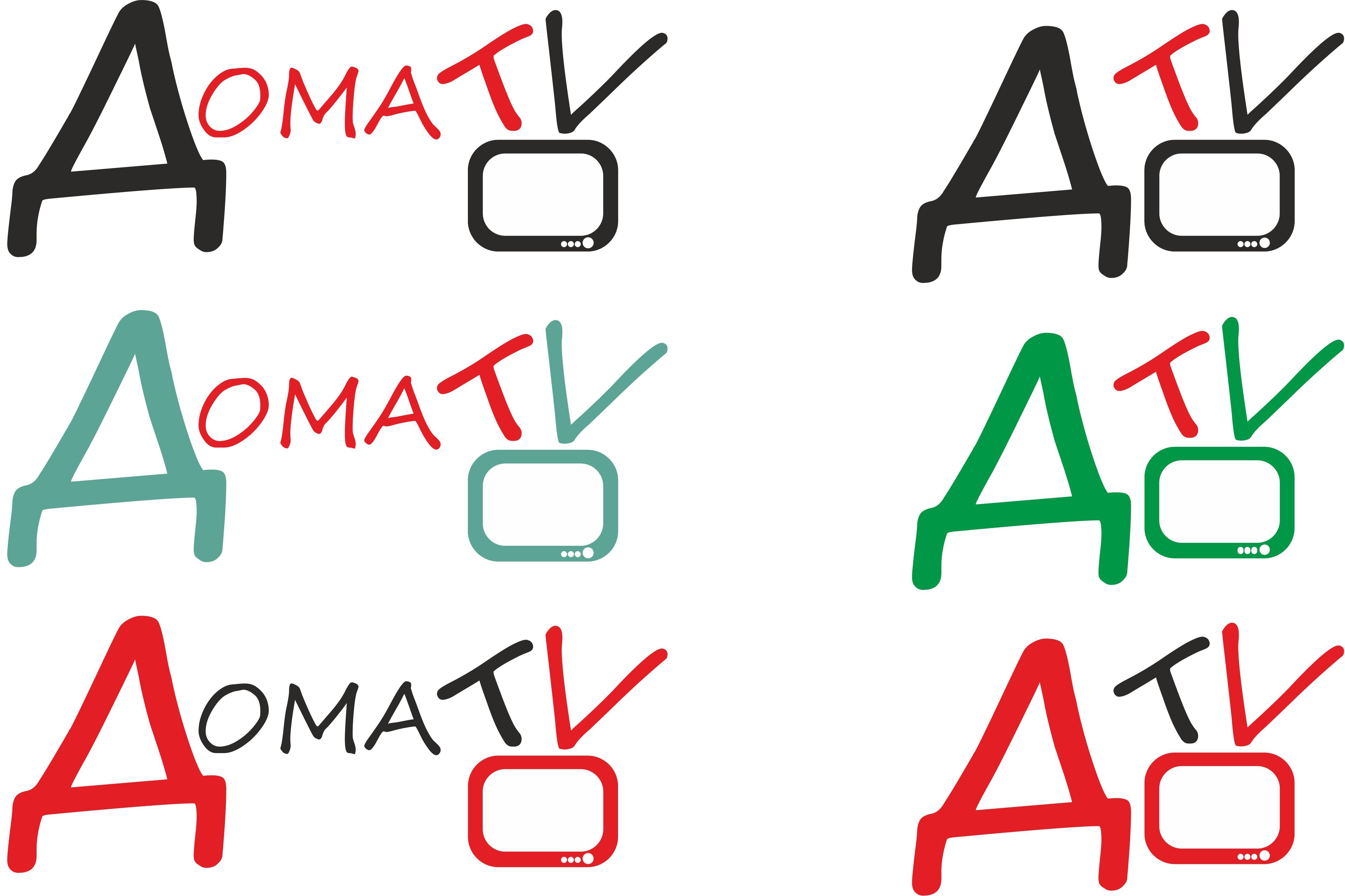 Логотип телеканала - дизайнер FreeAliman