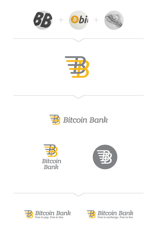 BitcoinBank - Логотип - дизайнер dubite