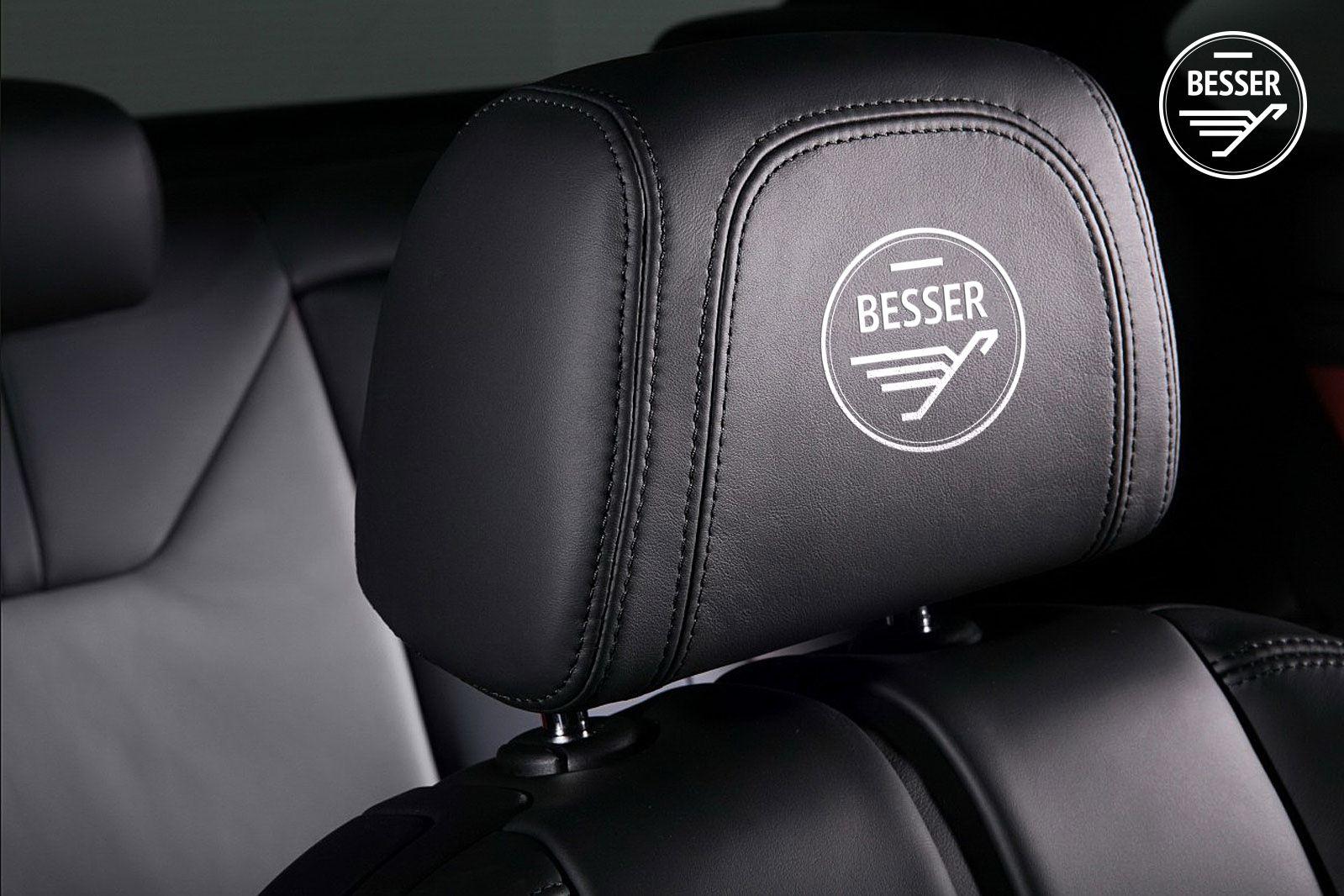 Логотип для тюнинг-ателье BESSER - дизайнер e5en