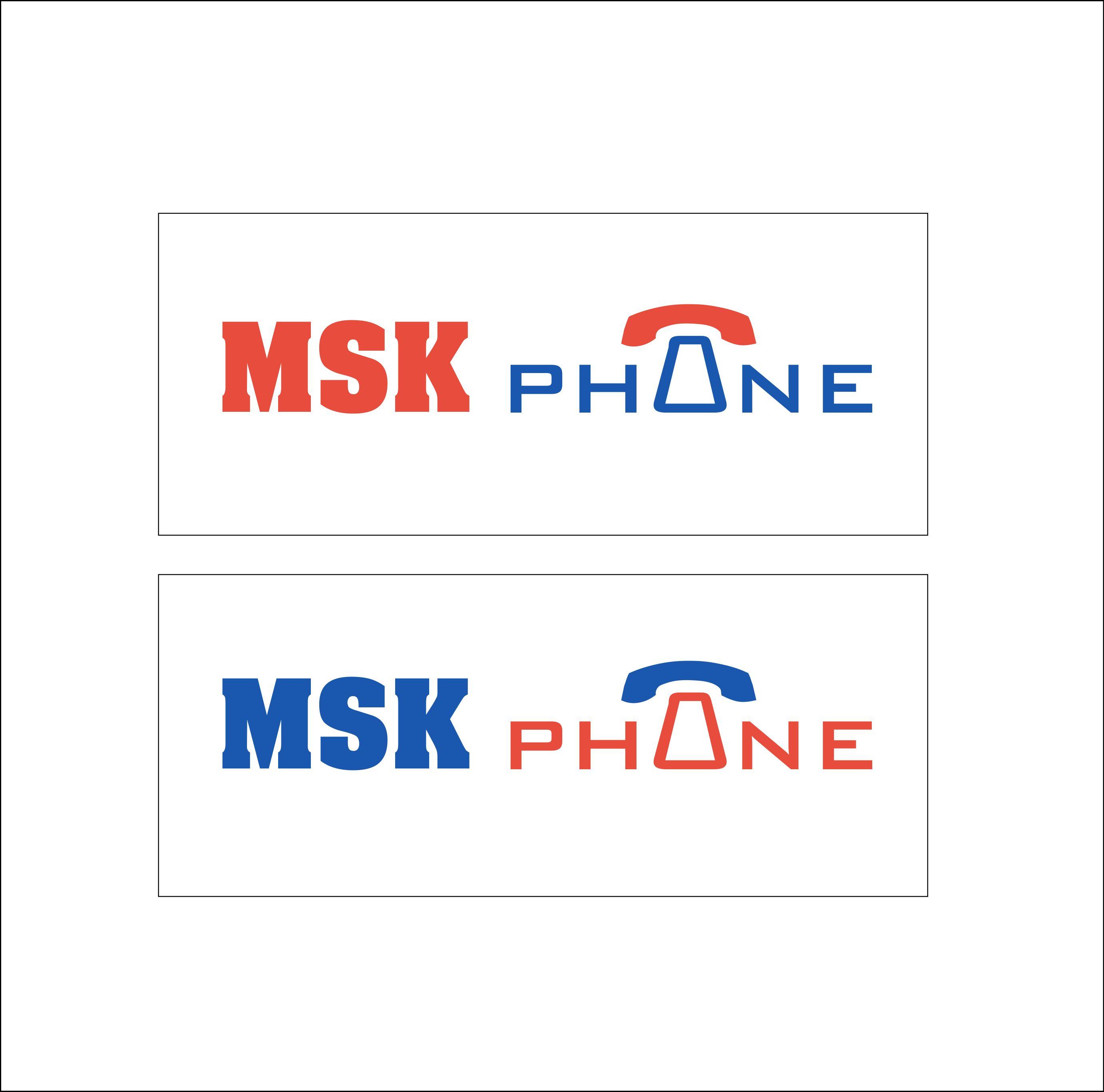 Логотип для MSKPHONE - дизайнер 1511993