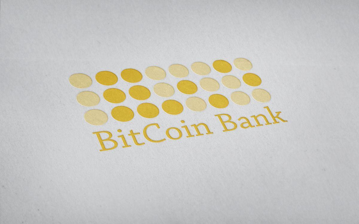 BitcoinBank - Логотип - дизайнер BeeZi