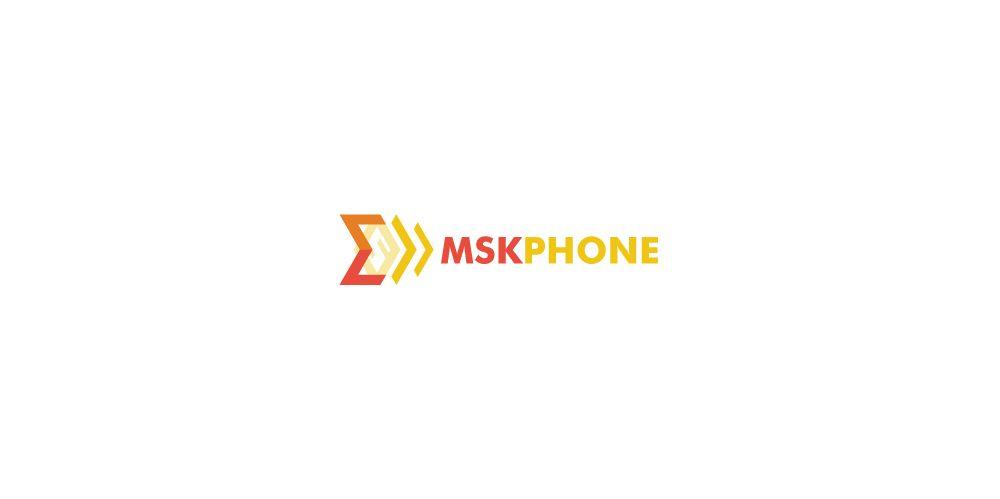 Логотип для MSKPHONE - дизайнер laxe