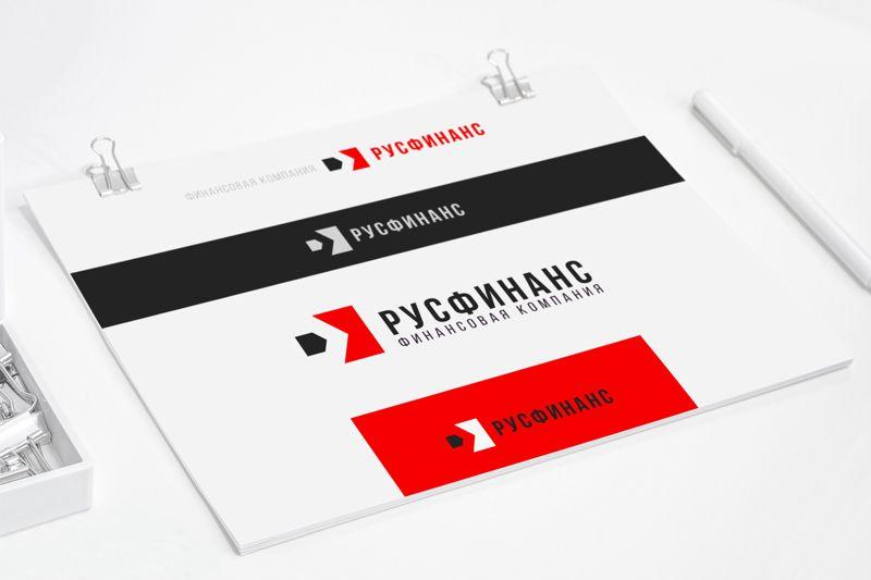 Логотип для Русфинанс - дизайнер GRANDXX