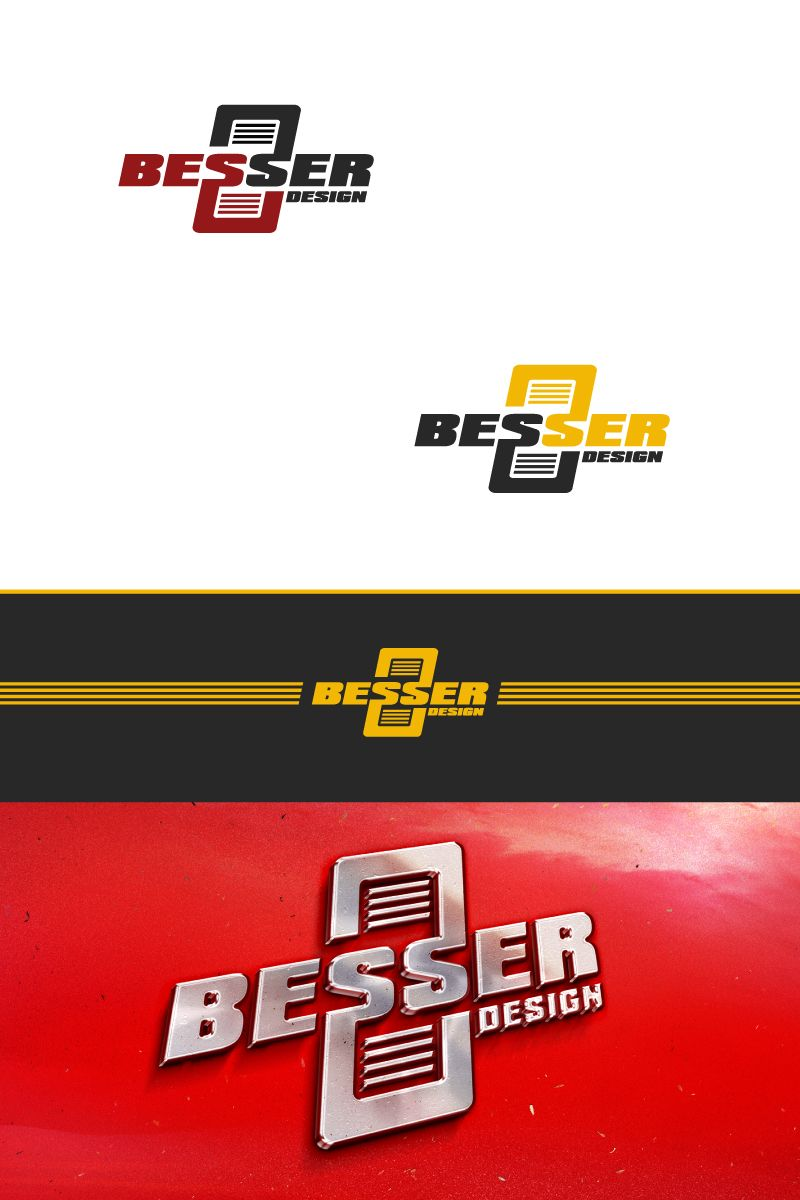 Логотип для тюнинг-ателье BESSER - дизайнер GRANDXX
