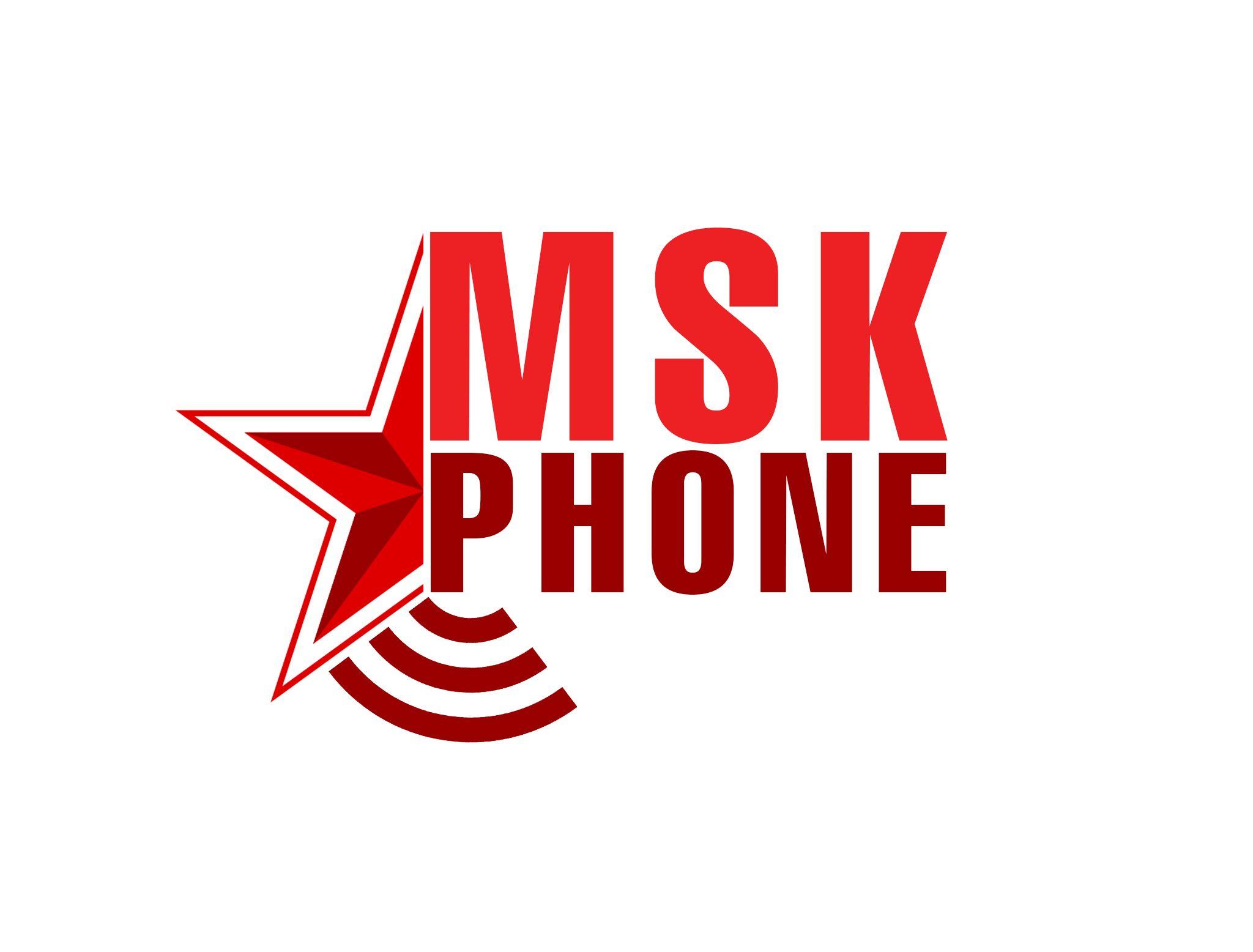 Логотип для MSKPHONE - дизайнер N_KARCHEVSKYI