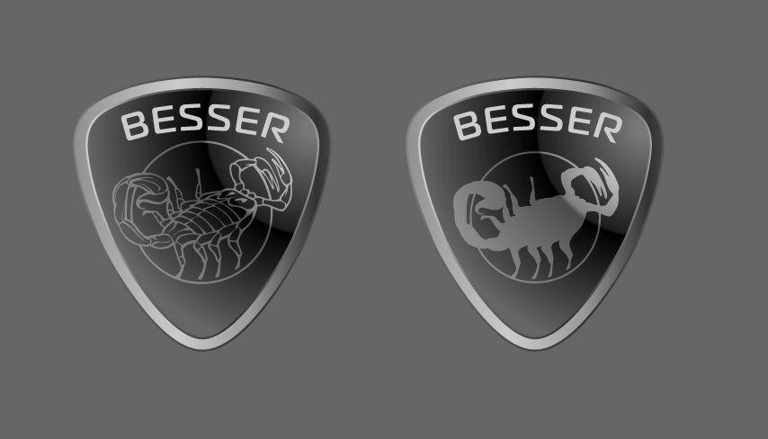 Логотип для тюнинг-ателье BESSER - дизайнер zhutol