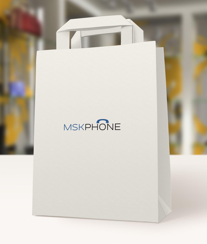 Логотип для MSKPHONE - дизайнер everypixel