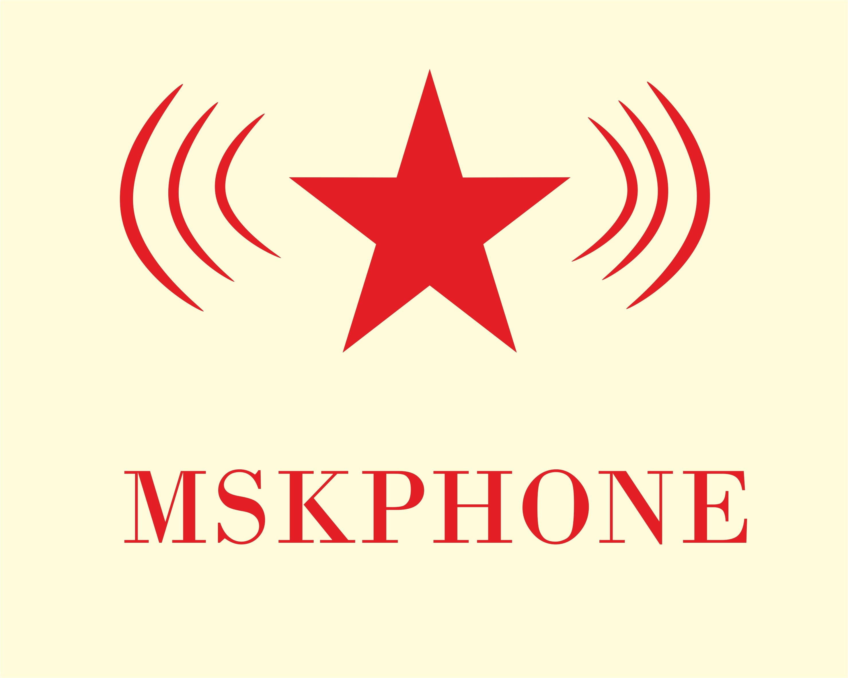 Логотип для MSKPHONE - дизайнер YuliyaG
