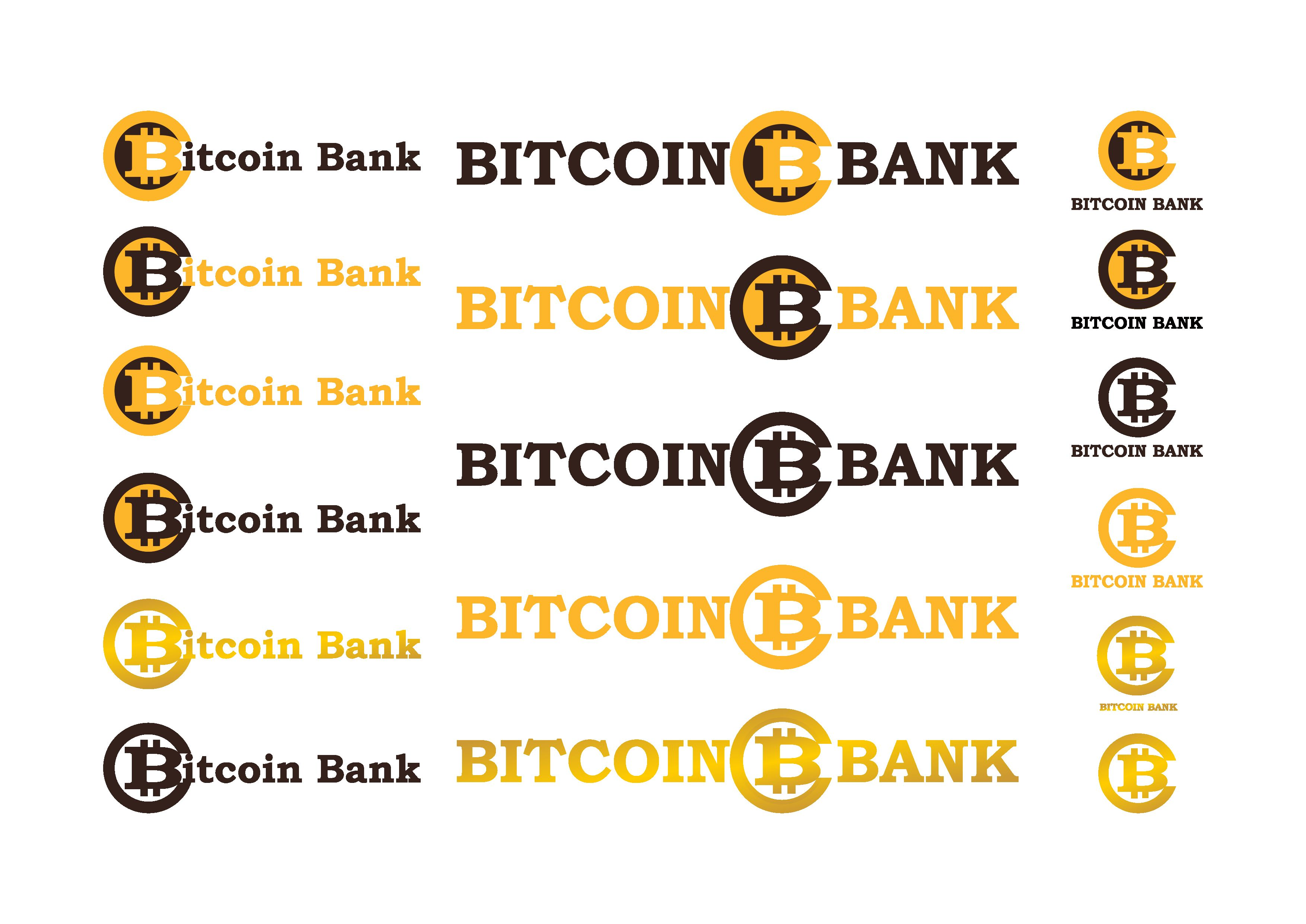 BitcoinBank - Логотип - дизайнер bor23