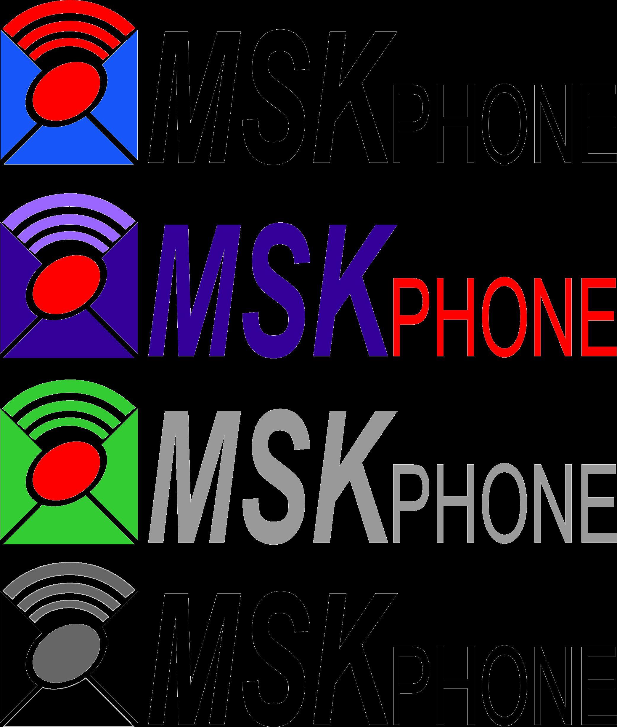 Логотип для MSKPHONE - дизайнер Ksushka1992