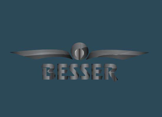 Логотип для тюнинг-ателье BESSER - дизайнер markosov