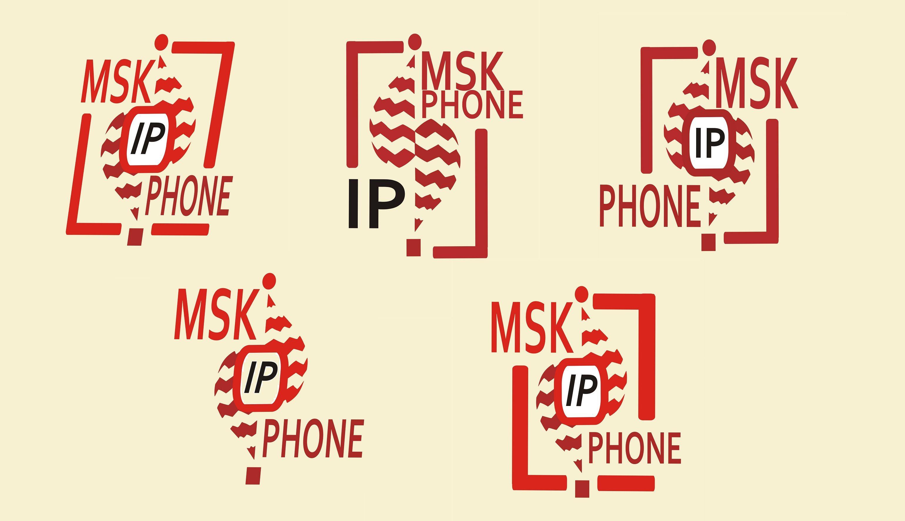 Логотип для MSKPHONE - дизайнер Grim