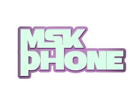 Логотип для MSKPHONE - дизайнер SirinGamayun