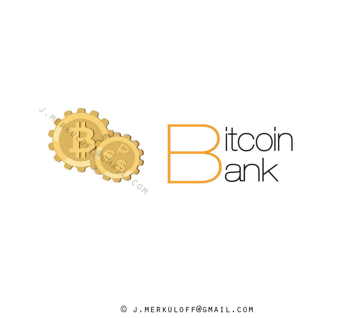 BitcoinBank - Логотип - дизайнер jmerkulov