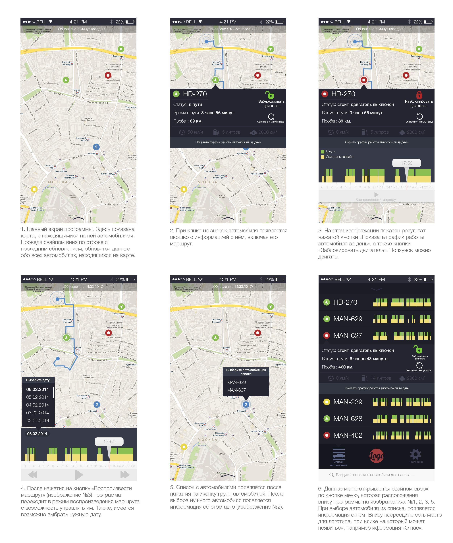 Дизайн мобильного приложения (объекты на карте) - дизайнер Dragon_PRO