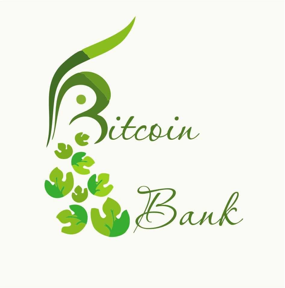 BitcoinBank - Логотип - дизайнер jeniulka