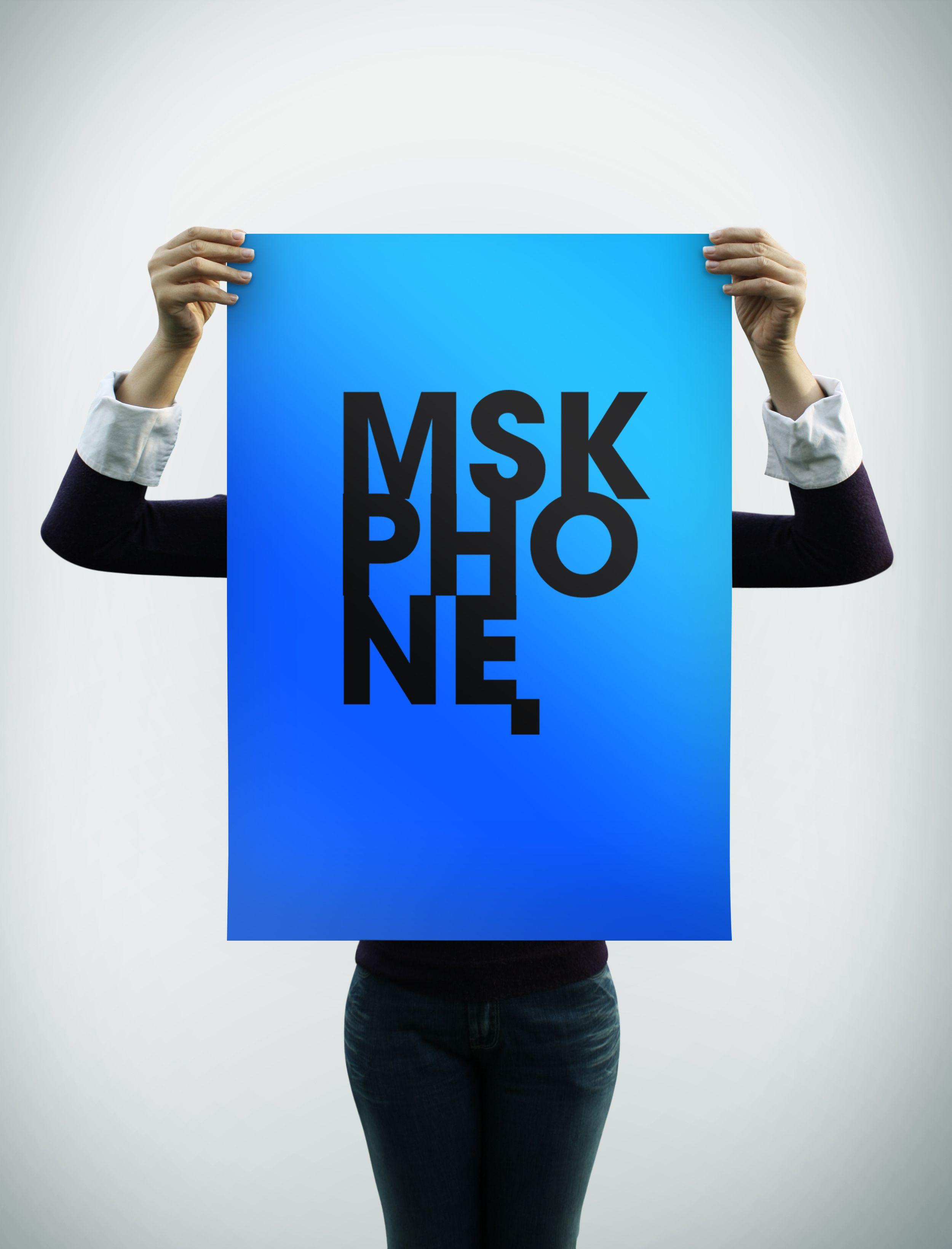 Логотип для MSKPHONE - дизайнер IsaevaDV