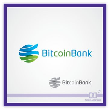 BitcoinBank - Логотип - дизайнер TEFI