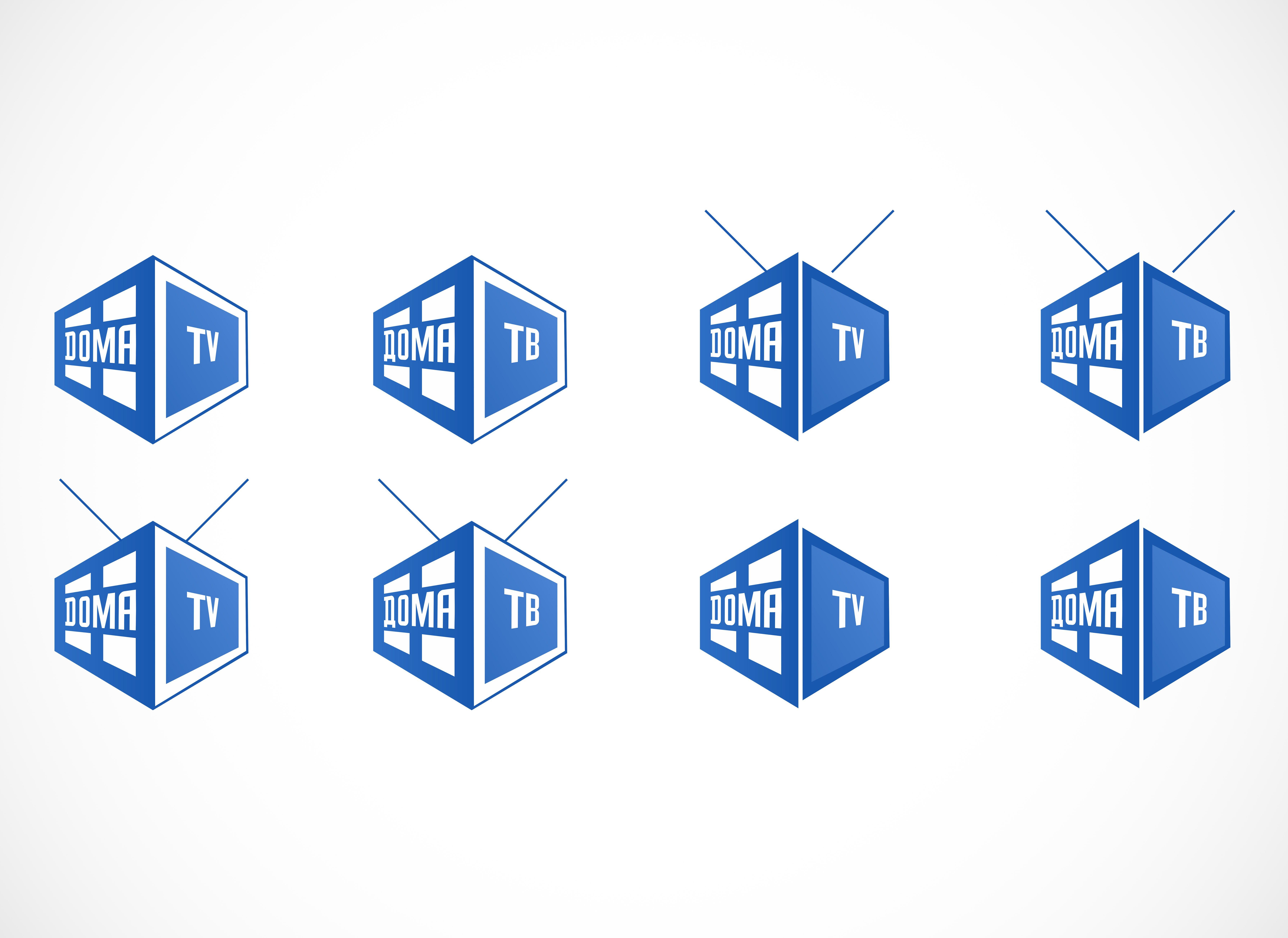 Логотип телеканала - дизайнер goljakovai