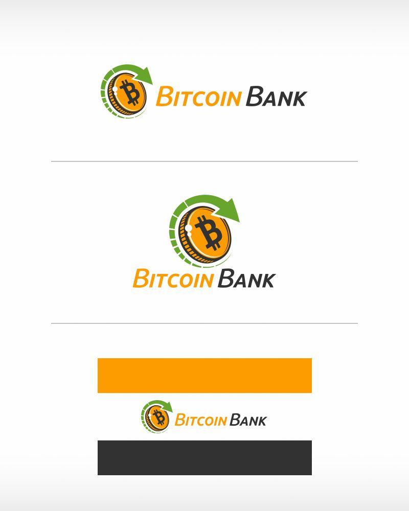BitcoinBank - Логотип - дизайнер MrPartizan