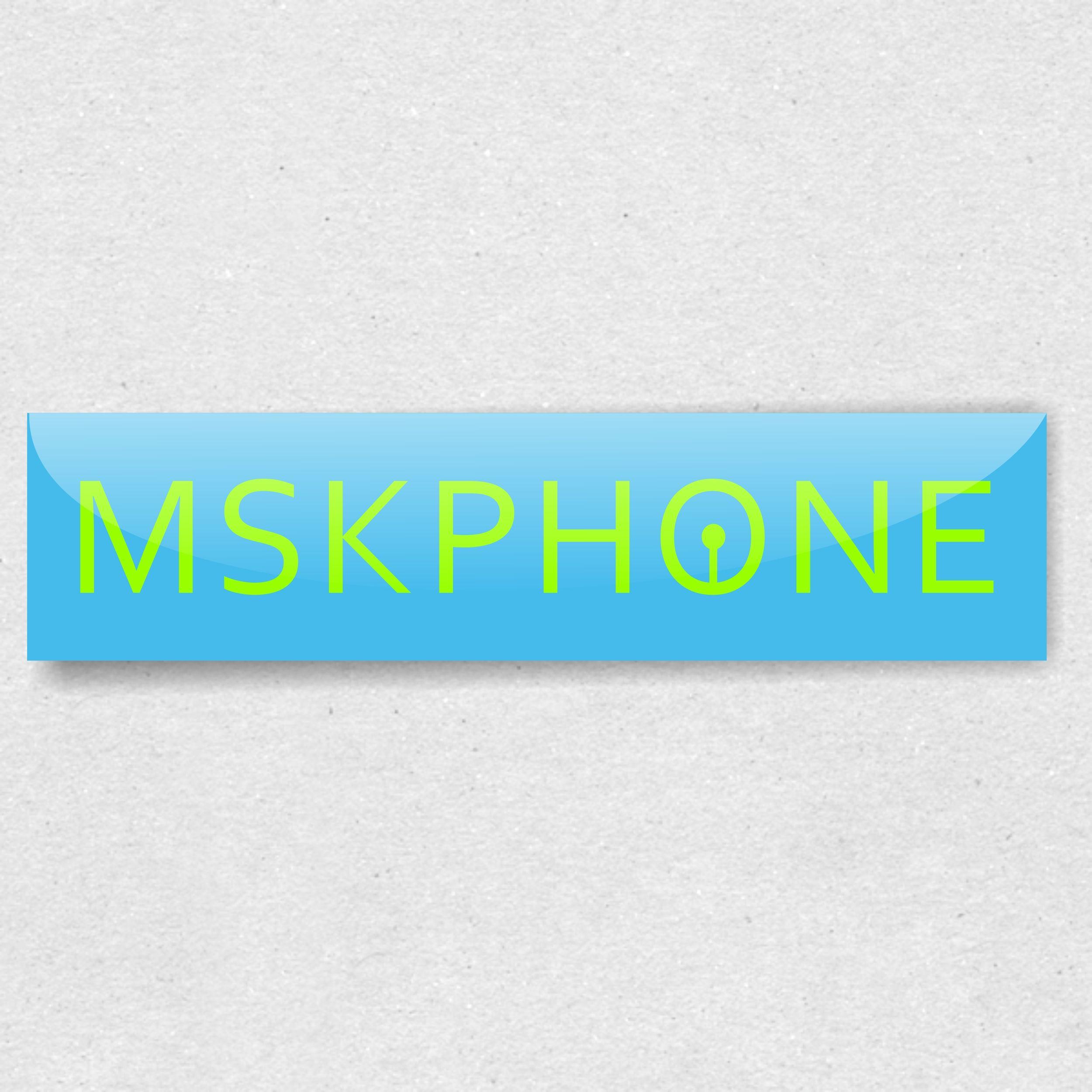 Логотип для MSKPHONE - дизайнер Volkonskiy