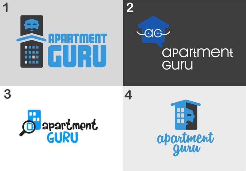 Дизайн логотипа сайта apartment guru - дизайнер nyur_ok