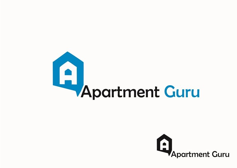Дизайн логотипа сайта apartment guru - дизайнер aries913