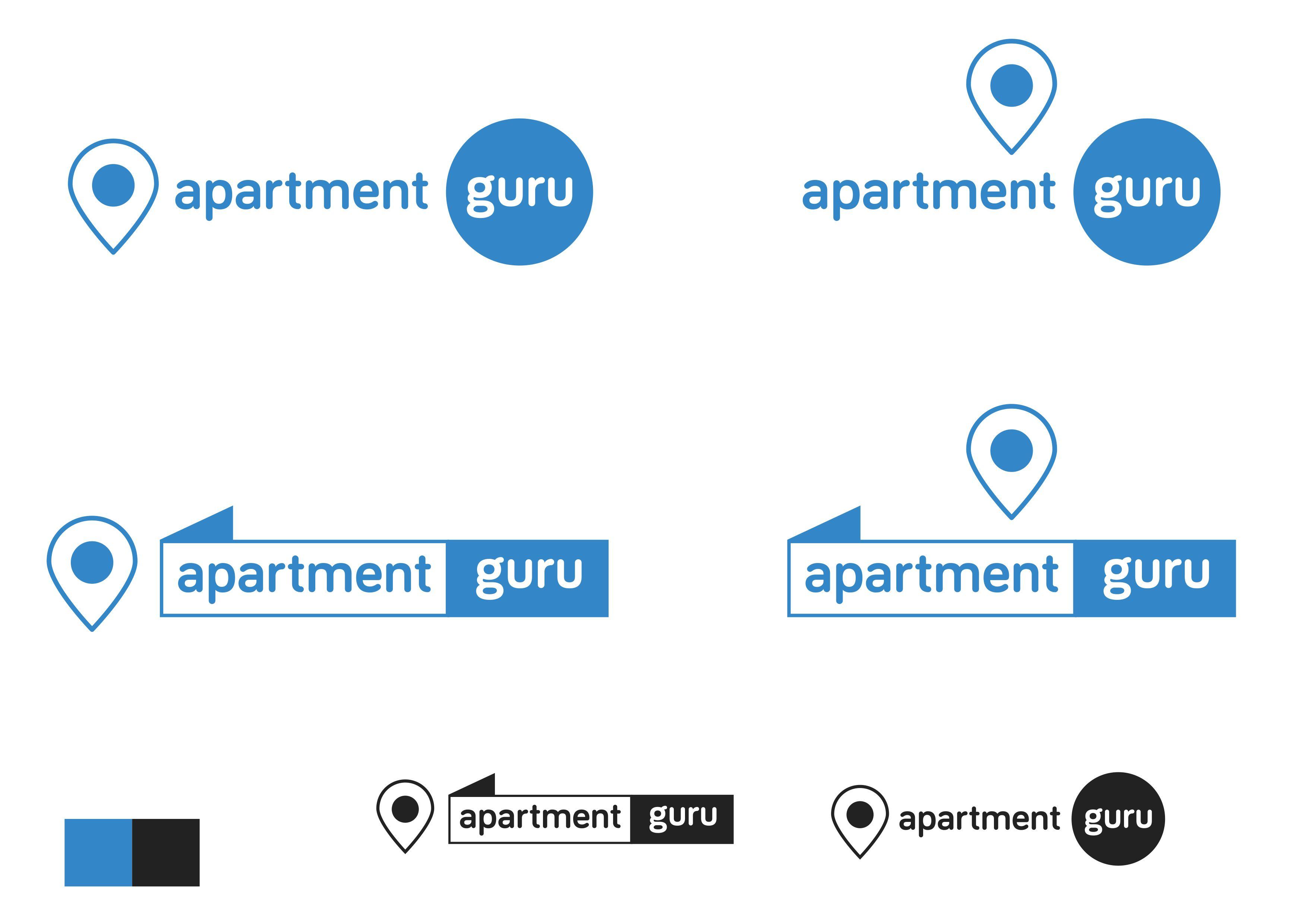 Дизайн логотипа сайта apartment guru - дизайнер Jedi_artist