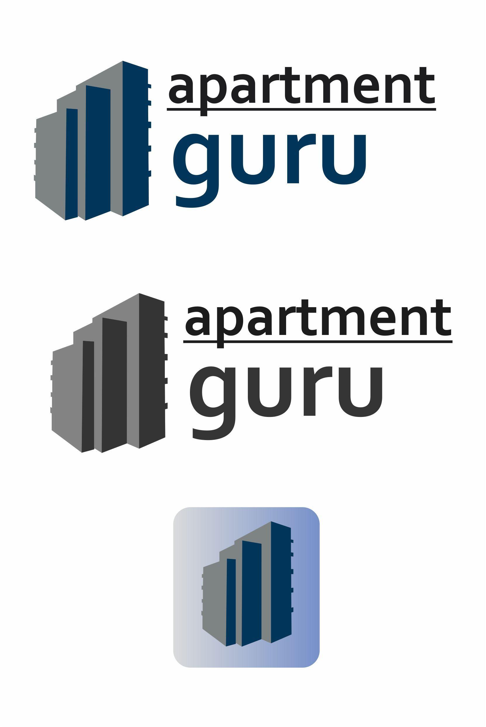 Дизайн логотипа сайта apartment guru - дизайнер gwyny