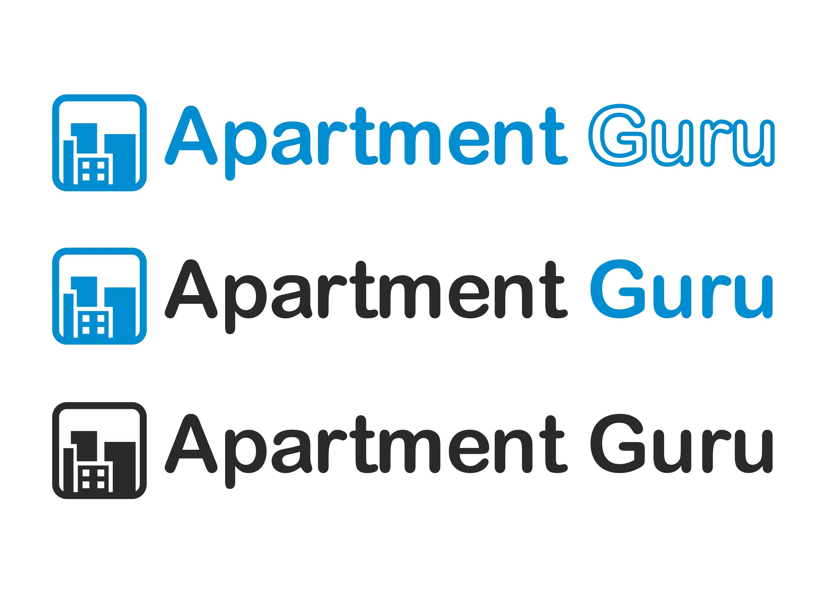 Дизайн логотипа сайта apartment guru - дизайнер logo_julia