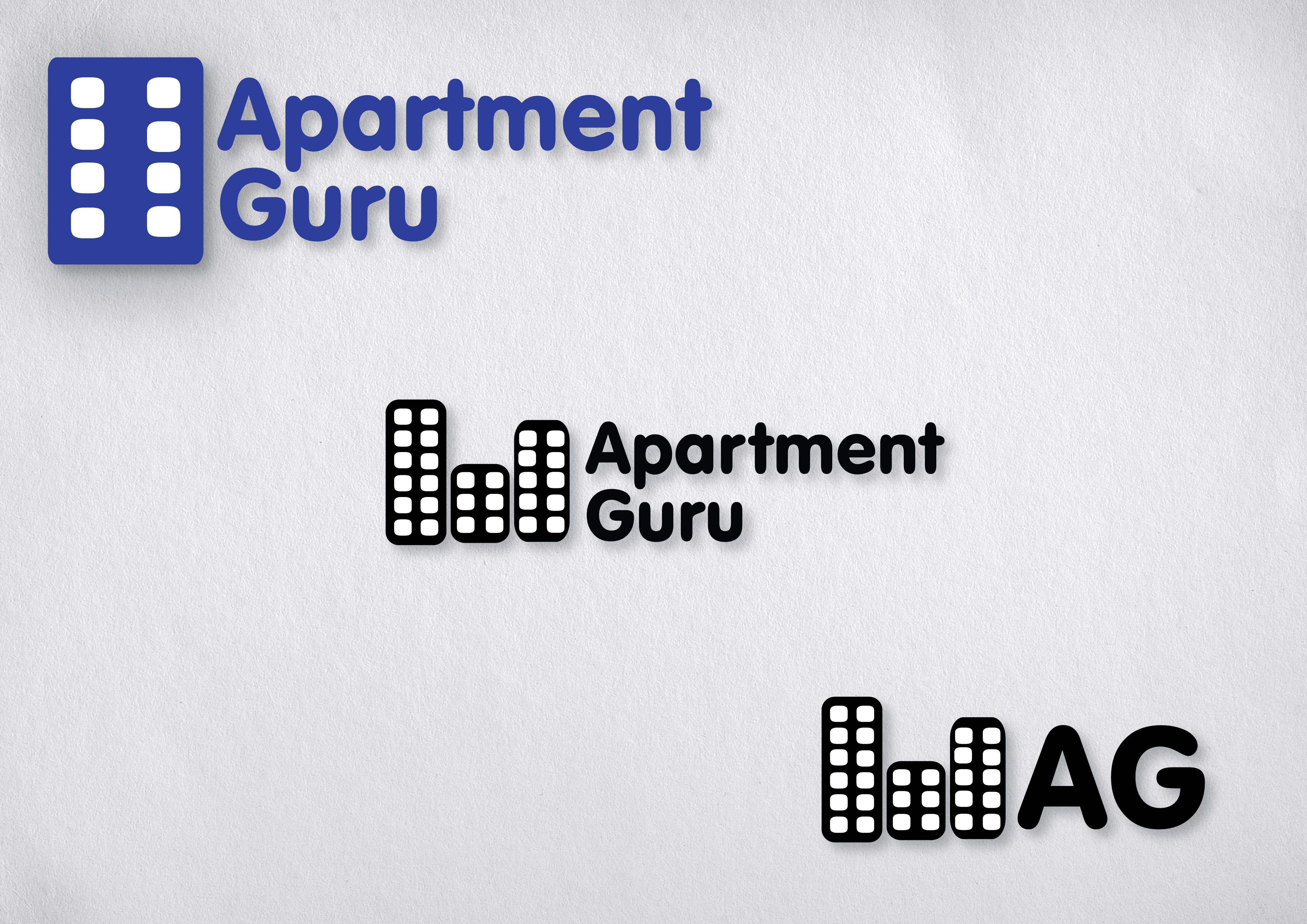 Дизайн логотипа сайта apartment guru - дизайнер designeveryday1