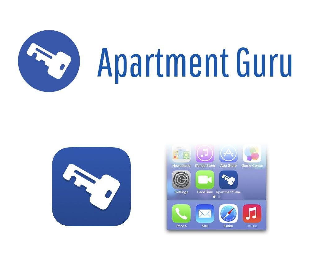 Дизайн логотипа сайта apartment guru - дизайнер sgarts