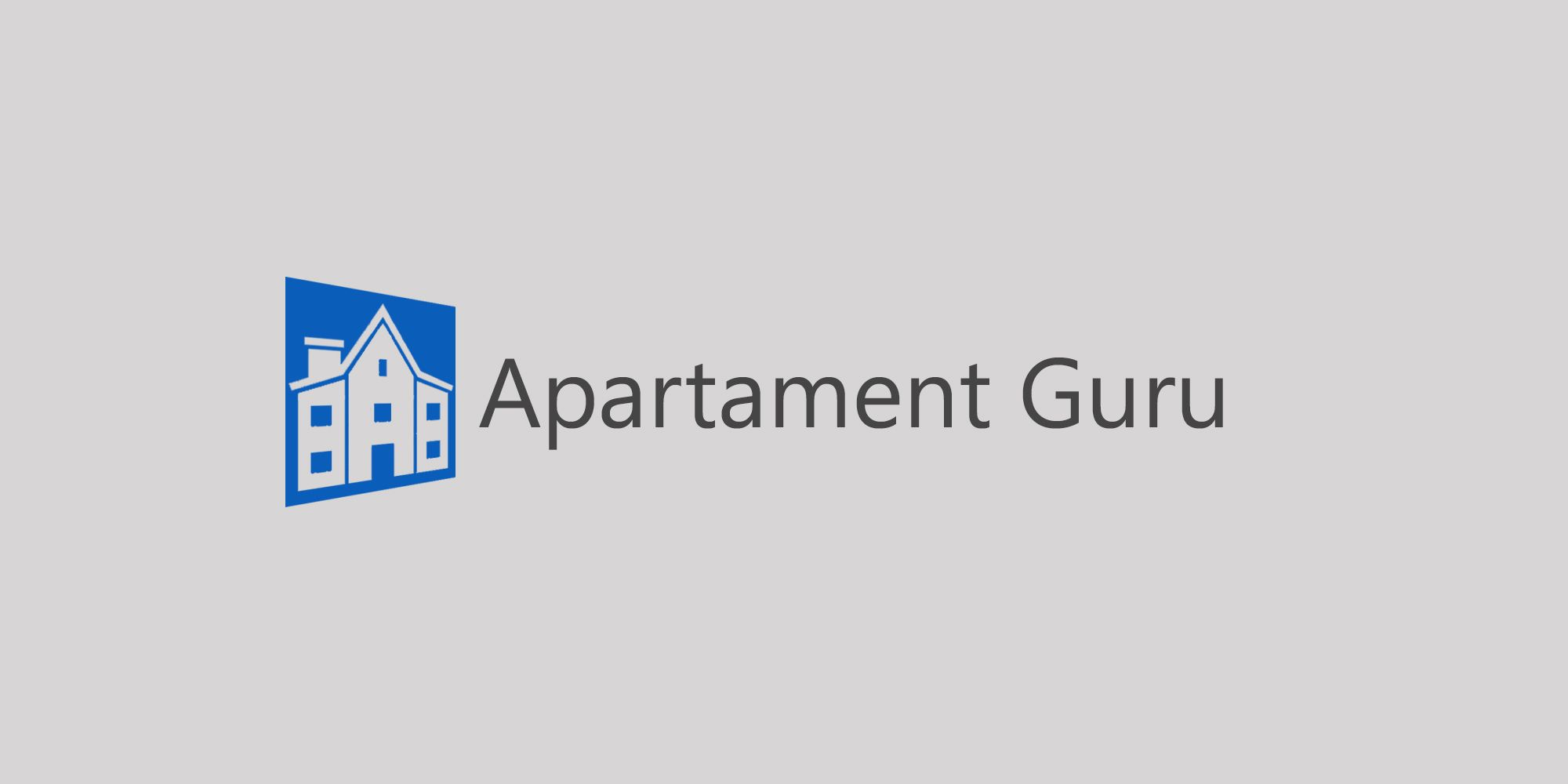 Дизайн логотипа сайта apartment guru - дизайнер fixsed