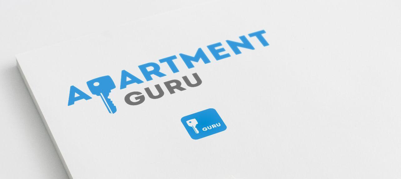 Дизайн логотипа сайта apartment guru - дизайнер Zhe_ka