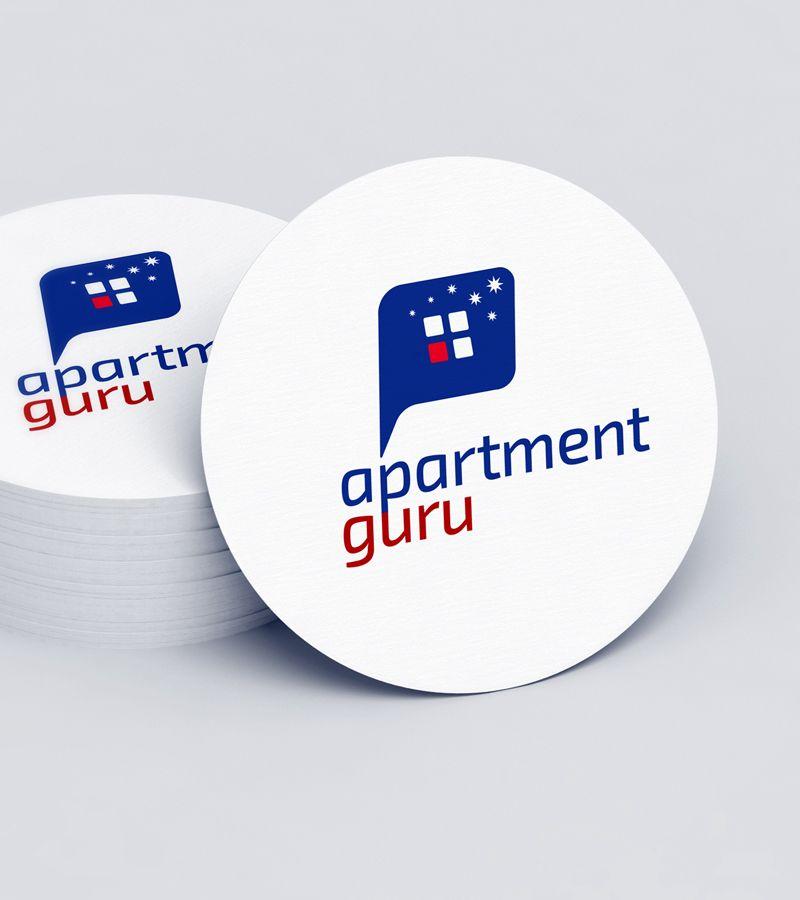 Дизайн логотипа сайта apartment guru - дизайнер GRANDXX