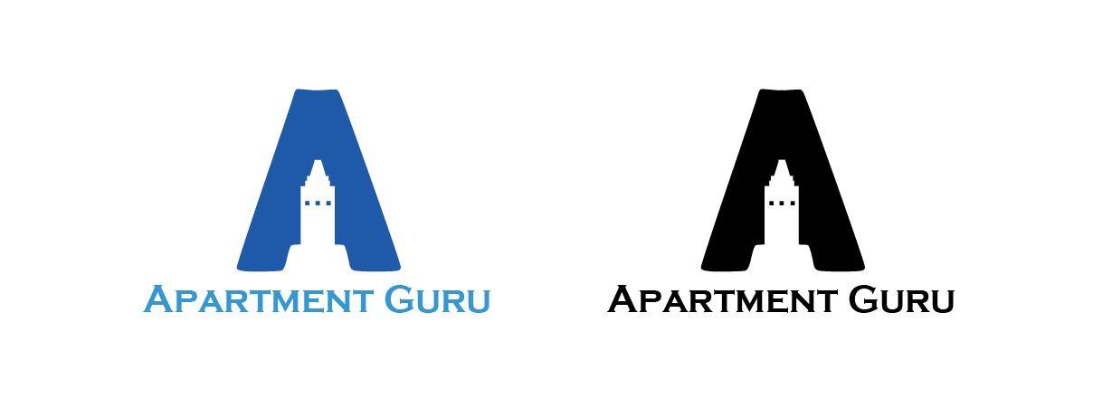 Дизайн логотипа сайта apartment guru - дизайнер DynamicMotion
