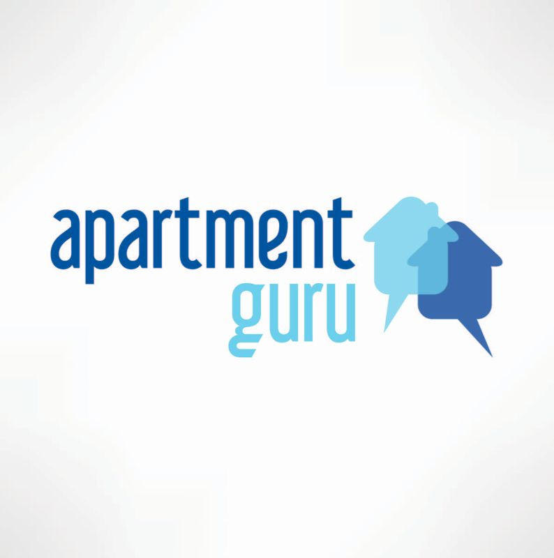 Дизайн логотипа сайта apartment guru - дизайнер kit-design