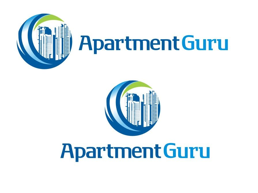 Дизайн логотипа сайта apartment guru - дизайнер Olegik882