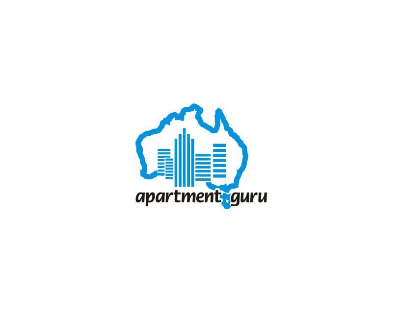 Дизайн логотипа сайта apartment guru - дизайнер ABN