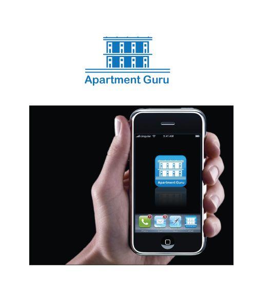 Дизайн логотипа сайта apartment guru - дизайнер peps-65