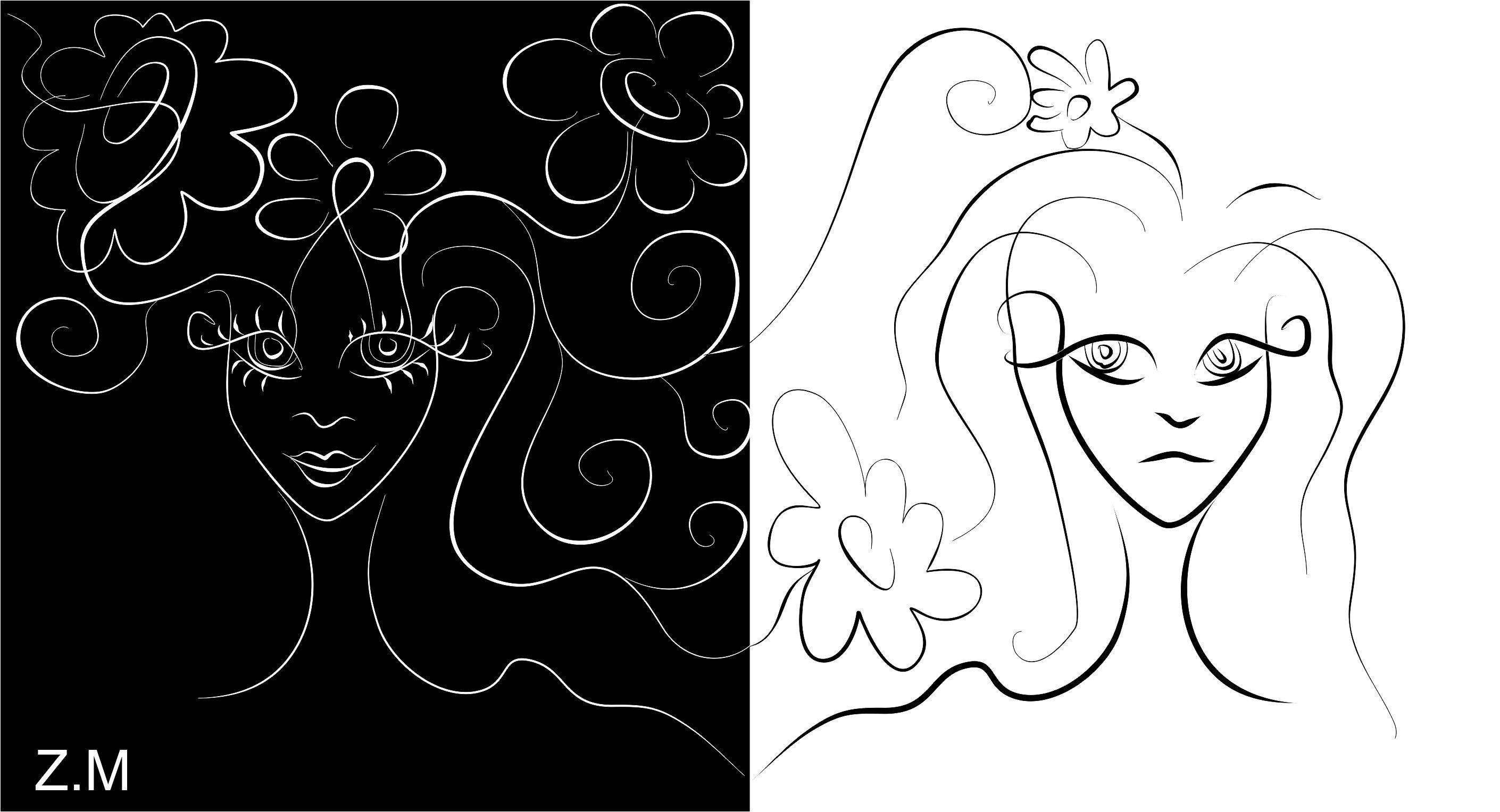 Иллюстрации для научно-хужественной статьи - дизайнер Marina-ZMX