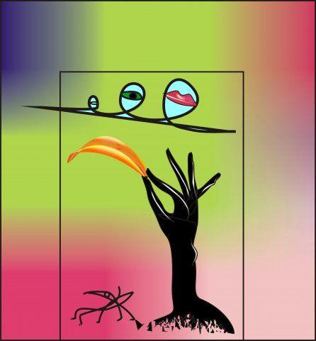 Иллюстрации для научно-хужественной статьи - дизайнер Volkonskiy