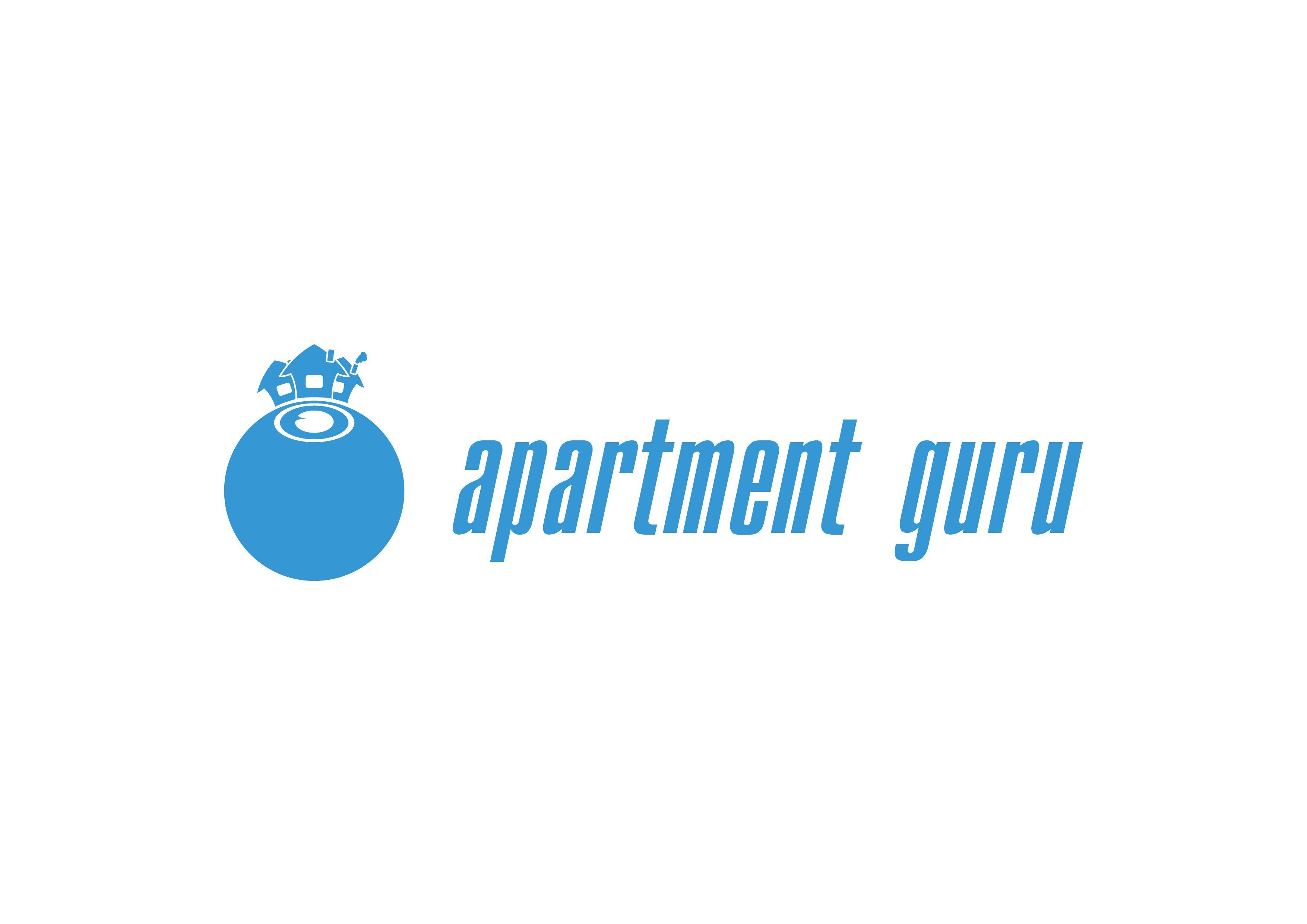 Дизайн логотипа сайта apartment guru - дизайнер PUPIK