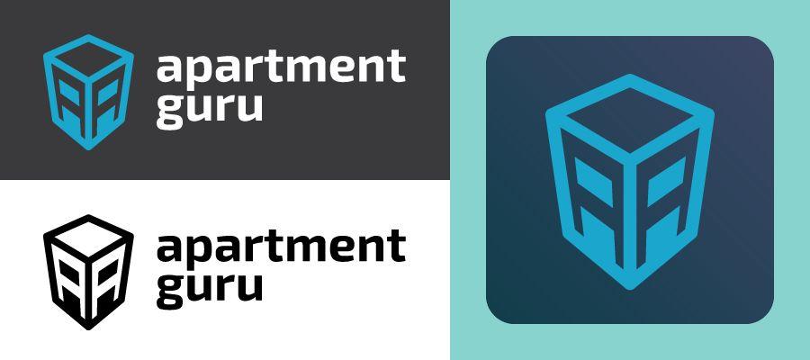 Дизайн логотипа сайта apartment guru - дизайнер rem1n1scence