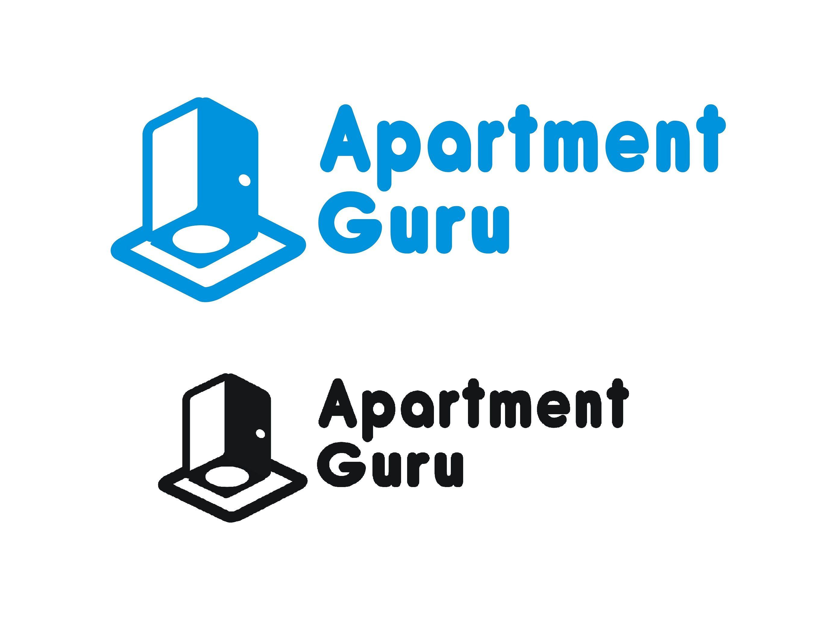 Дизайн логотипа сайта apartment guru - дизайнер Grim