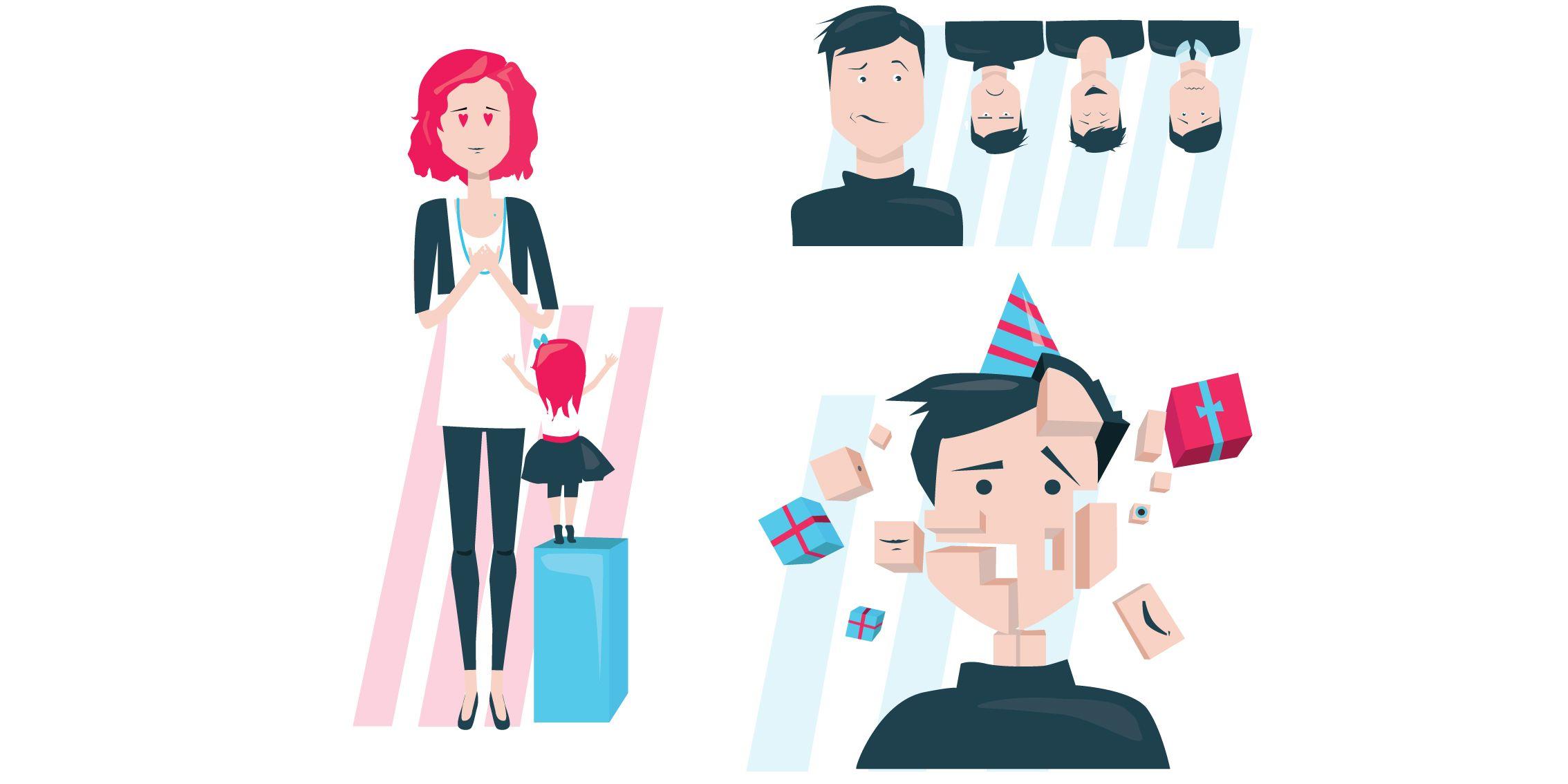 Иллюстрации для научно-хужественной статьи - дизайнер kolotova
